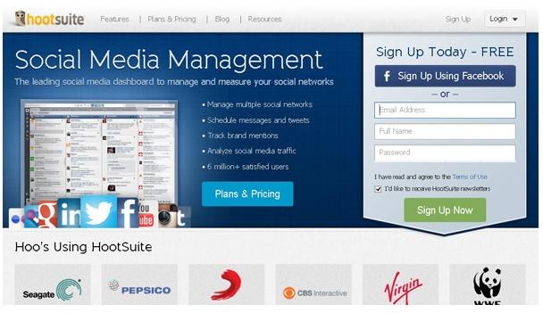 هوت سوییت- مدیریت شبکه های اجتماعی